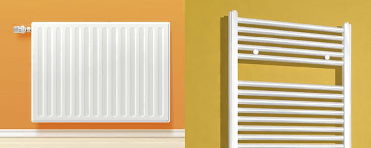 salle de bain s che serviettes ou radiateur guide artisan. Black Bedroom Furniture Sets. Home Design Ideas