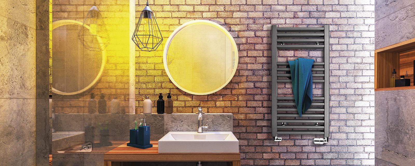 Comment Choisir La Puissance D Un Seche Serviette Electrique salle de bain: sèche-serviettes ou radiateur ? | guide artisan