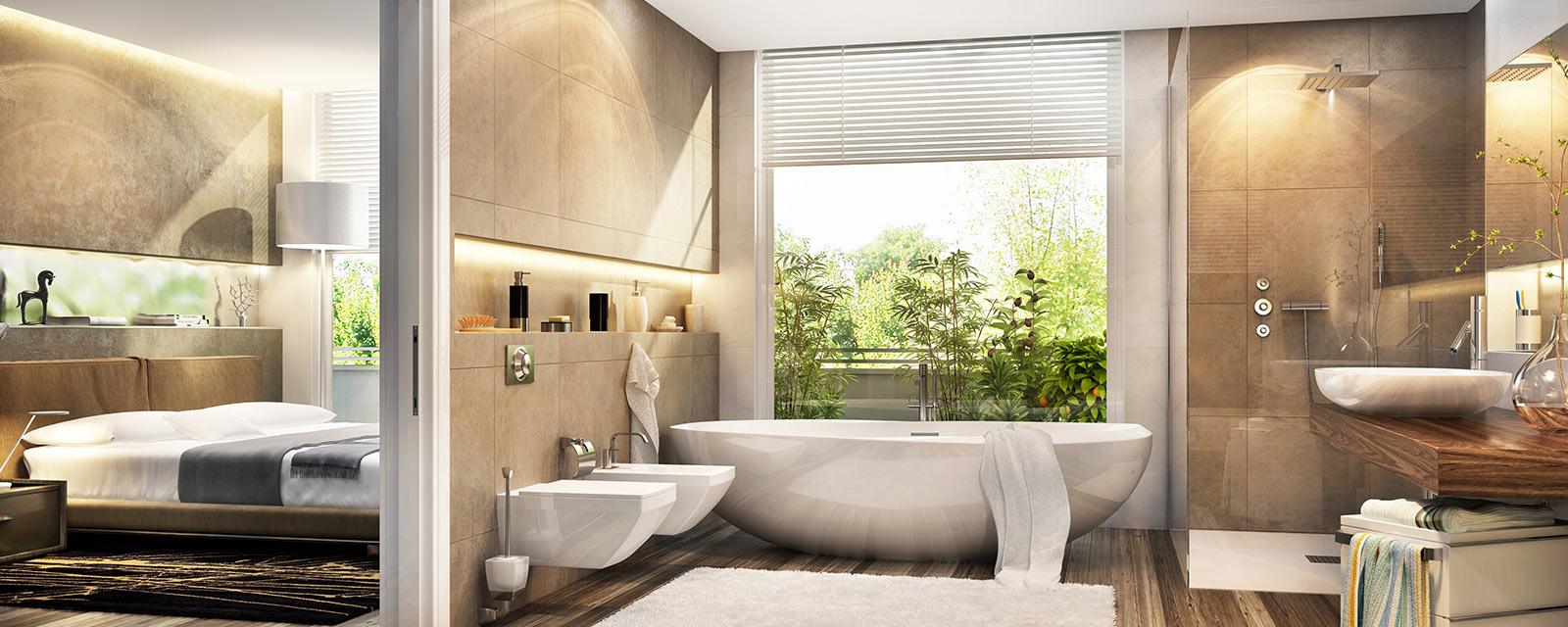 Pourquoi Aménager Une Salle De Bain Dans Une Chambre ?